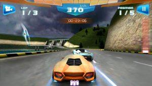Fast racing 3d mod apk android 1.9 screenshot