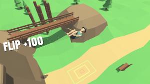 Flip trickster parkour simulator mod apk android 1.10.10 screenshot