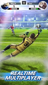 Football strike multiplayer soccer mod apk android 1.30.0 screenshot