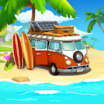 Funky Bay Farm & Adventure game MOD APK android  42.0.34
