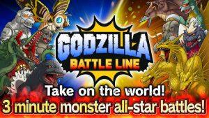 Godzilla battle line mod apk android 1.1.2 screenshot