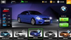 Gtspeed club drag racing csr race car game mod apk android 1.12.12 screenshot
