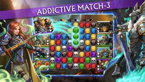 Gems of war match 3 rpg mod apk android 5.6.1 screenshot