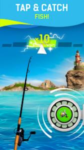 Grand fishing game fish hooking simulator mod apk android 1.1 screenshot