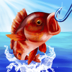 Grand Fishing Game fish hooking simulator MOD APK android 1.1.1