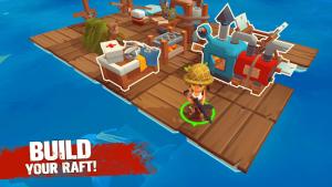 Grand survival ocean raft adventure mod apk android 1.0.14 screenshot