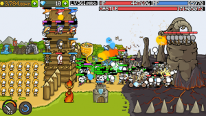 Grow castle tower defense mod apk android 1.35.1 screenshot