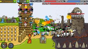 Grow castle tower defense mod apk android 1.35.2 screenshot