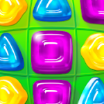 Gummy Drop Match to restore and build cities MOD APK android 4.34.0