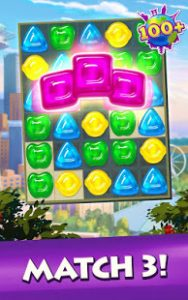 Gummy drop match to restore and build cities mod apk android 4.34.0 screenshot