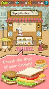 Happy sandwich cafe mod apk android 1.1.7.0 screenshot