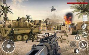 Heroes strike commando world war pacific shooter mod apk android 4.3 screenshot