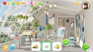 Homecraft home design game mod apk android 1.25.1 screenshot