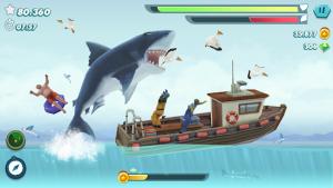 Hungry shark evolution offline survival game mod apk android 8.7.0 screenshot