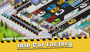 Idle car factory car builder, tycoon games 2021 mod apk android 13.3.0 screenshot