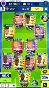 Idle eleven be a millionaire soccer tycoon mod apk android 1.17.10 screenshot