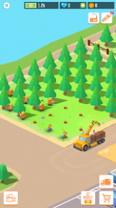 Idle forest lumber inc timber factory tycoon mod apk android 1.2.0 screenshot