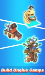 Idle island build and survive mod apk android 1.7.0 screeshot