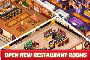 Idle restaurant tycoon koch simulator empire mod apk android 1.15.0 screenshot