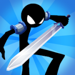 Idle Stickman Heroes Monster Age MOD APK android 1.0.26