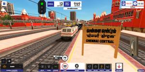 Indian train simulator mod apk android 2021.3.5 screenshot