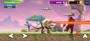 Kaiju brawl godzilla vs kong mod apk android 31 screenshot