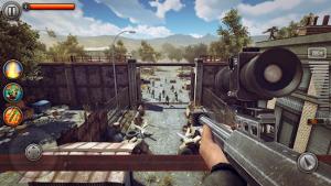 Last hope sniper zombie war shooting games fps mod apk android 3.22 screenshot