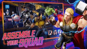 Marvel strike force squad rpg mod apk android 5.5.0 screenshot
