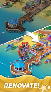 Match town makeover town renovation match 3 puzzle mod apk android 1.12.1300 screenshot