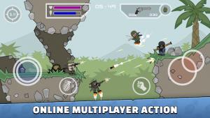 Mini militia doodle army 2 mod apk android 5.3.7 screenshot