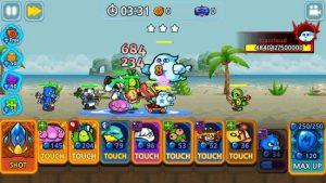 Monster defense king mod apk android 1.2.8 screenshot