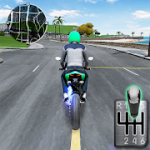 Moto Traffic Race 2  Multiplayer MOD APK android 1.22.00