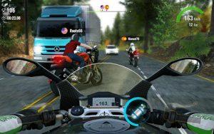 Moto traffic race 2 multiplayer mod apk android 1.22.00 screenshot