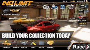 No limit drag racing 2 mod apk android screenshot