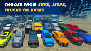 Offroad simulator online 8x8 & 4x4 off road rally mod apk android 3.6 screenshot