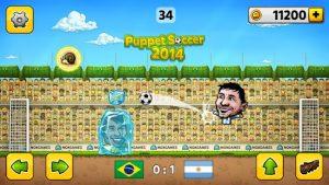 Puppet soccer 2014 big head football mod apk android 3.1.6 screenshot