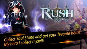 Rush rise up special heroes mod apk android 1.0.105 screenshot