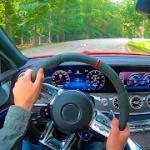 Racing in Car 2021  POV traffic driving simulator MOD APK android 2.5.2