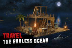 Raft survival ocean nomad simulator mod apk android 1.194 screenshot