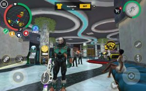 Rope hero vice town mod apk android 5.7 screenshot