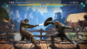 Shadow fight arena pvp fighting game mod apk android 1.2.2 screenshot