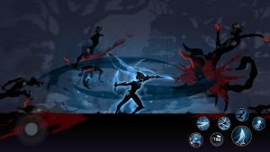 Shadow knight ninja samurai fighting games mod apk android 1.3.20 screenshot
