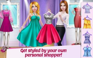 Shopping mall girl dress up & style game mod apk android 2.4.7 screenshot