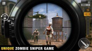 Sniper zombies offline shooting games 3d mod apk android 1.37.0 screenshot