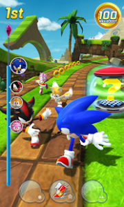 Sonic forces multiplayer racing & battle game mod apk android 3.8.2 screenshot