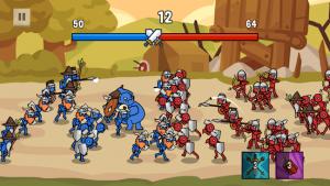 Stick battle war of legions mod apk android 2.3.0 screenshot