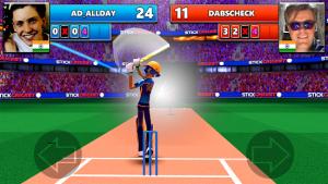 Stick cricket live 21 play 1v1 cricket games mod apk android 1.7.14 screenshot