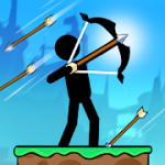 The Archers 2 Stickman Games for 2 Players or 1 MOD APK android 1.6.6.0.2