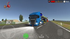 The road driver truck and bus simulator mod apk android 1.4.2 screenshot