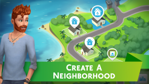 The sims mobile mod apk android 28.0.3.124036 screenshot